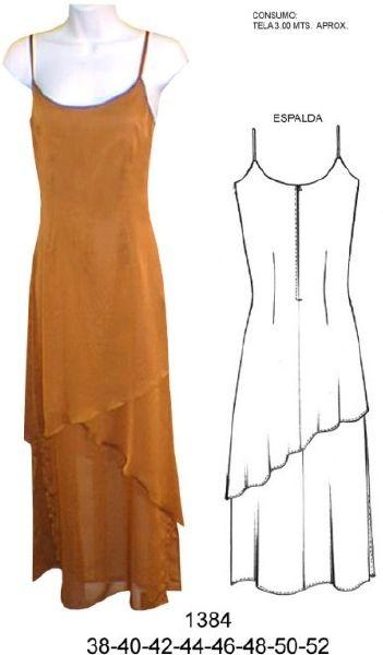 Moldes dismoda vestidos de fiesta