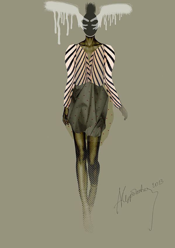 Sketch by Anastasia Kurbatova. Female.