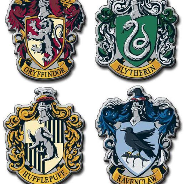 Which Hogwarts House Do You Belong In Harry Potter Badges Harry Potter Patch Harry Potter Houses Crests