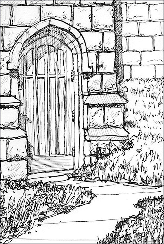Brides Door of Church architecture