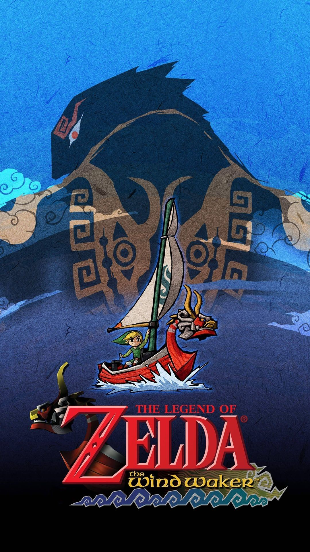 1080x1920 The Legend Of Zelda The Wind Waker Mobile Wallpaper