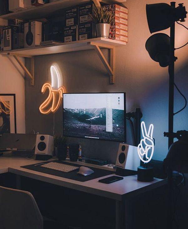25 coole und stilvolle Gaming Desks für Teenager # Schreibtische # Spiele # Sti #gamingdesk