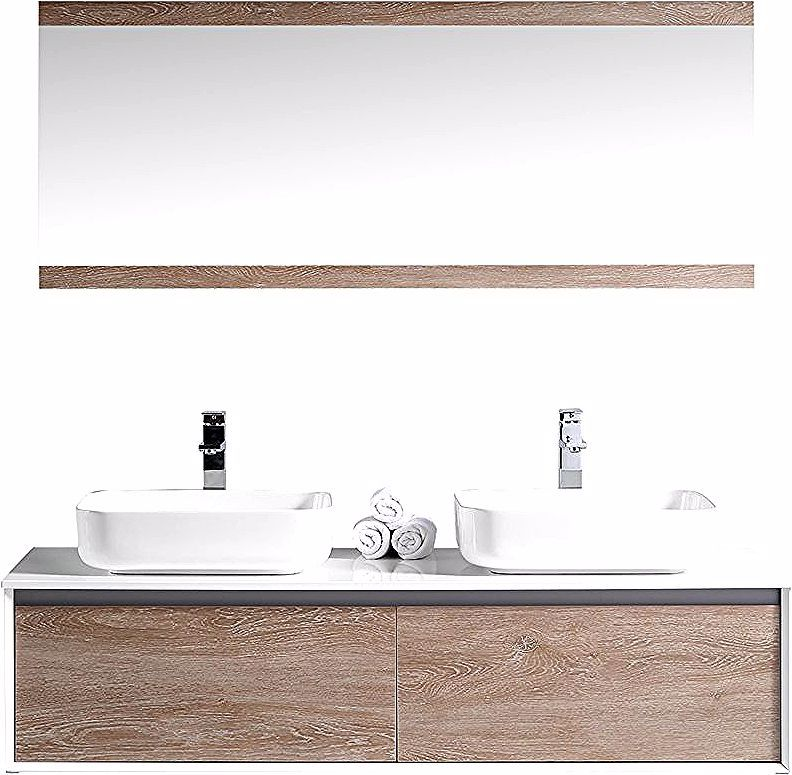 Ensemble De Meubles De Salle De Bain Mirror Bathroom Lighting Home Decor