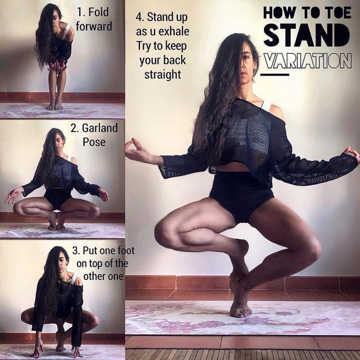 Zehenstand Variation  Fitness Fashion Online beubetter.com #yo  -.  #beubettercom #Fashion #FITNESS...