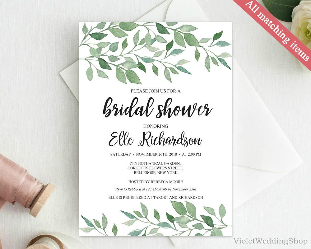pin by violeta pironkova on bridal shower invitation in