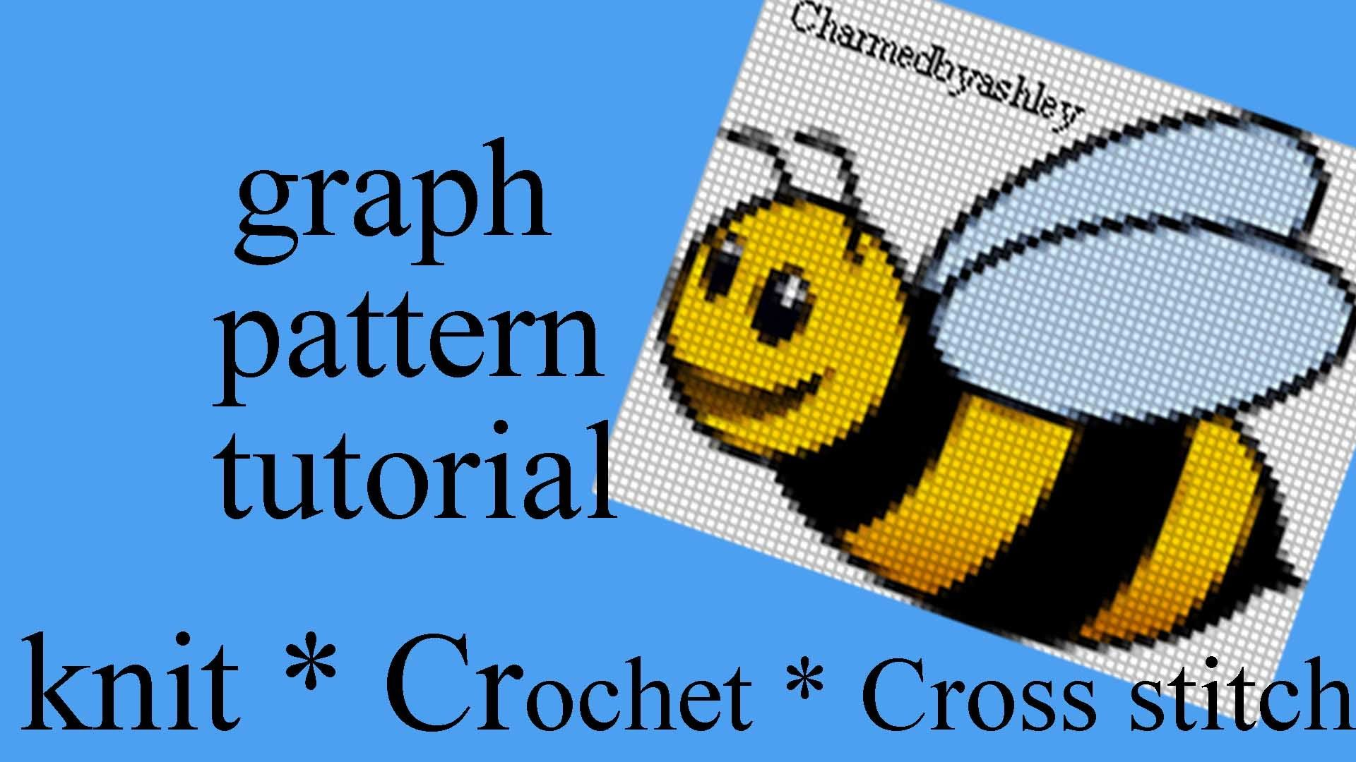 How To Create Crochet Cross Stitch Knit Graph Patterns