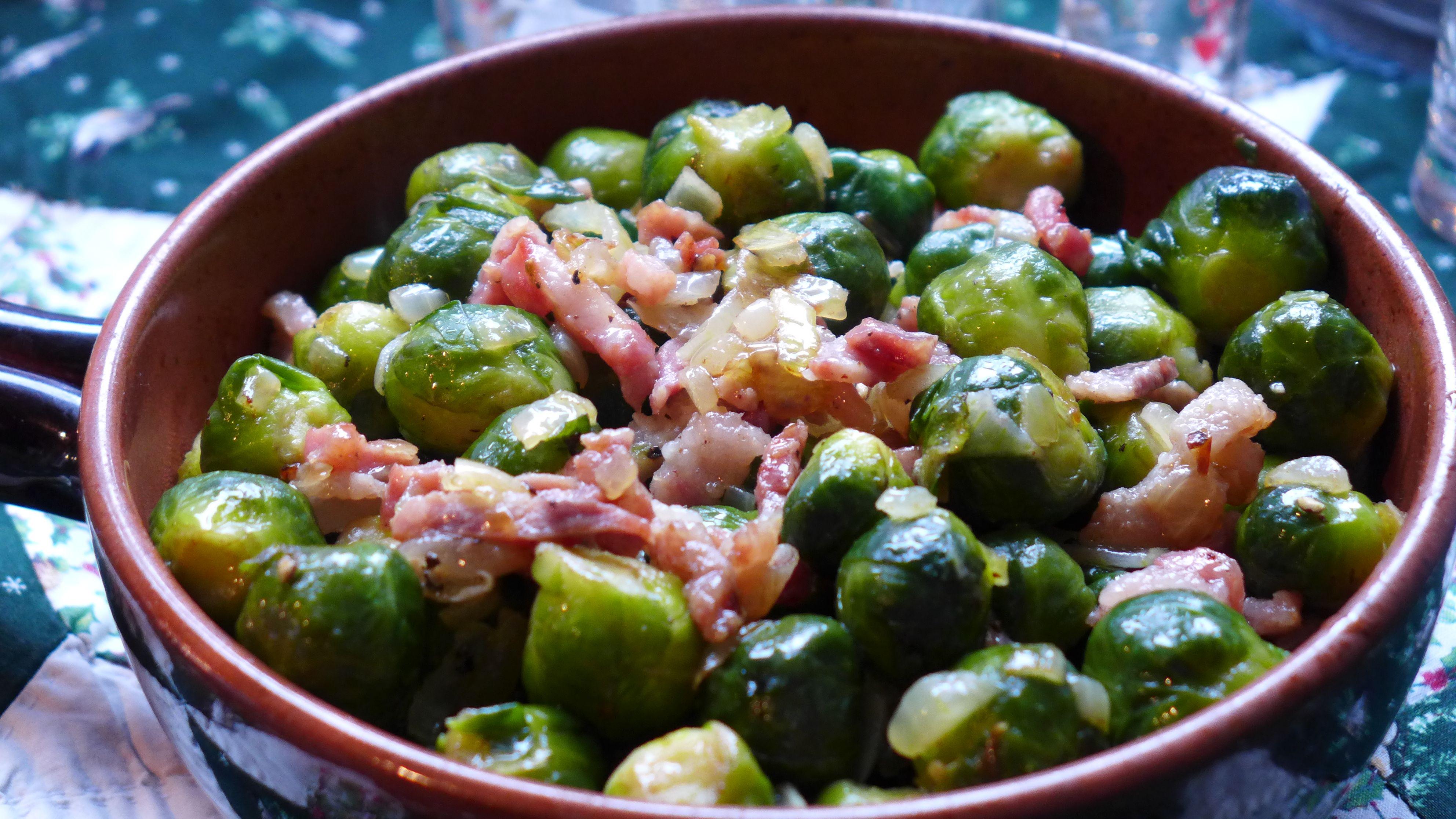 закуски из брюссельской капусты с фото