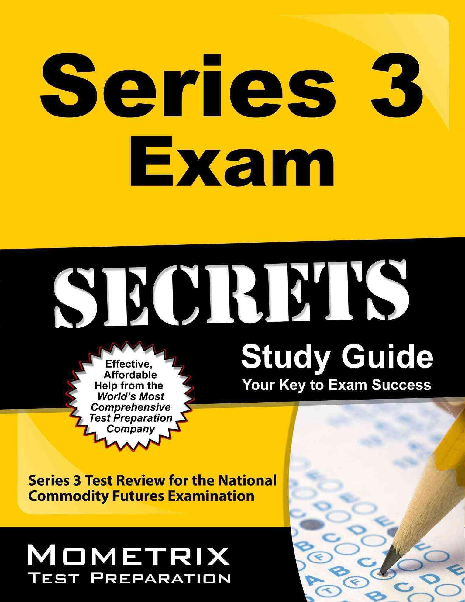 Series 3 Exam Secrets Your Key To Exam Success Series 3 Test