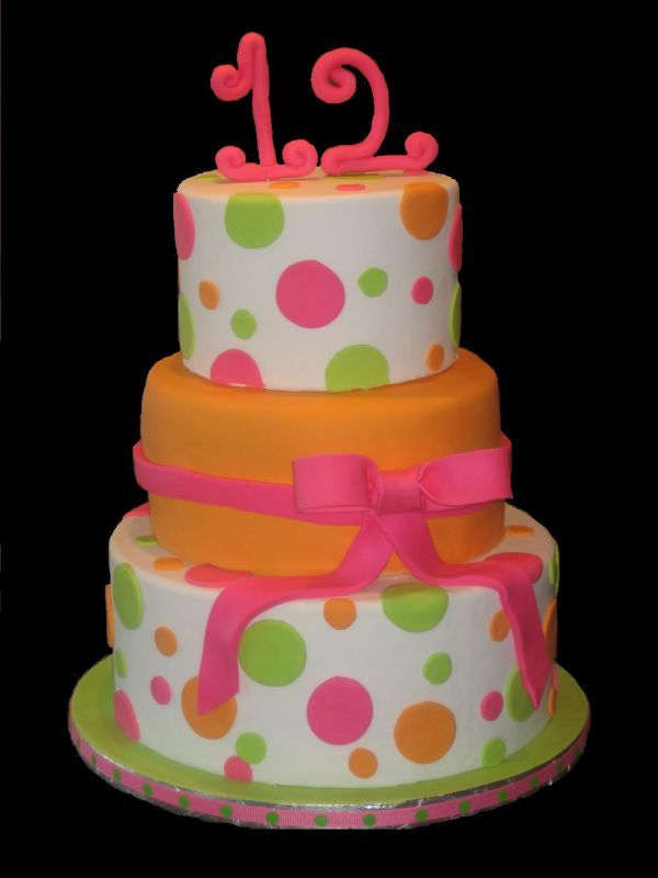 Birthday Cakes For Girls 12
