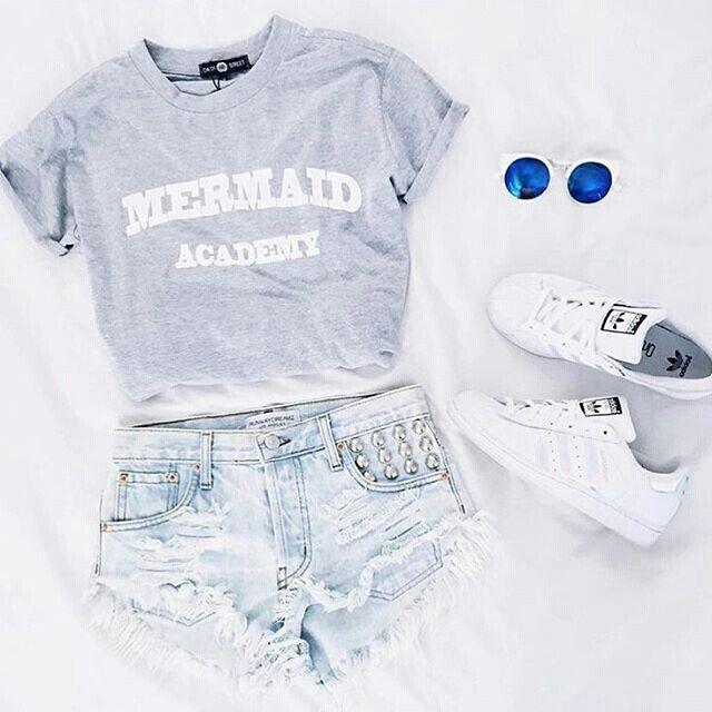 cec5865707 Shorts jeans azul claro