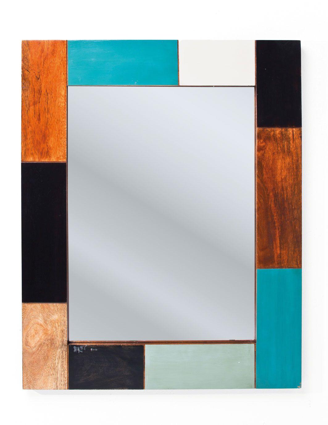 Specchio 100 X 80.Specchio Mali Blue 100x80 Kare Design Modern Vintage Nel