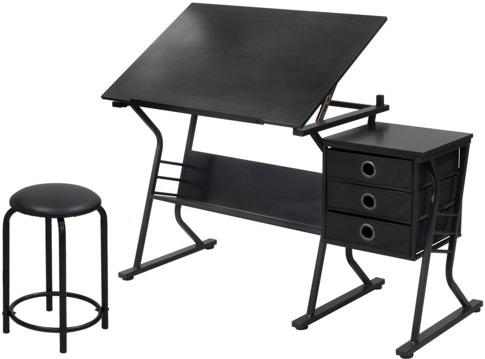 Fabulous Desk Craft Table Arts Crafts Homework Drafting Adjustable Bralicious Painted Fabric Chair Ideas Braliciousco
