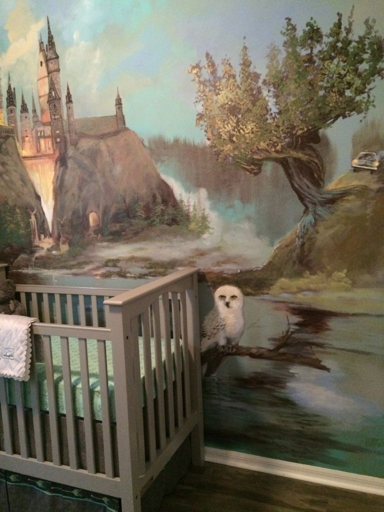 a harry potter inspired nursery harry potter nursery