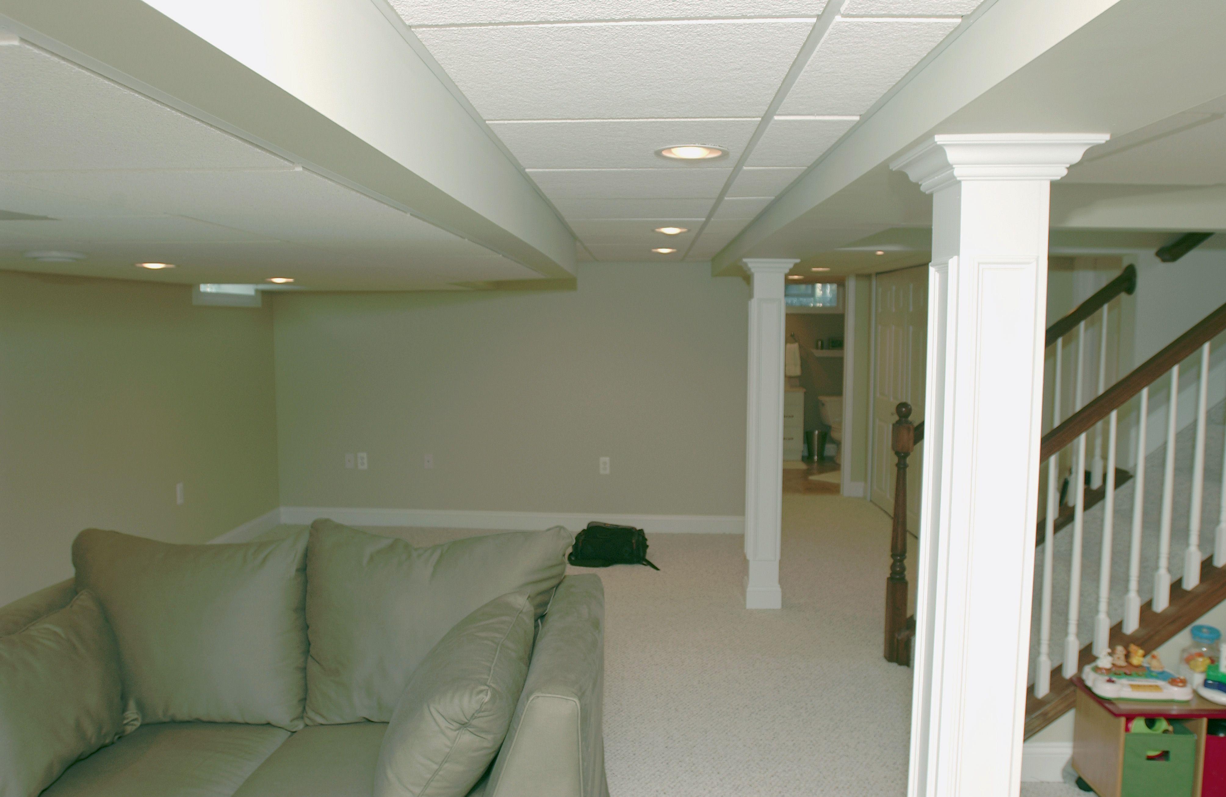 Best Basement Drop Ceiling Finished Basement With Drop 400 x 300