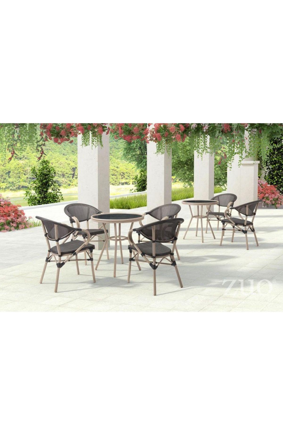 Zuo Modern Marseilles Dining Chair Dark Brown