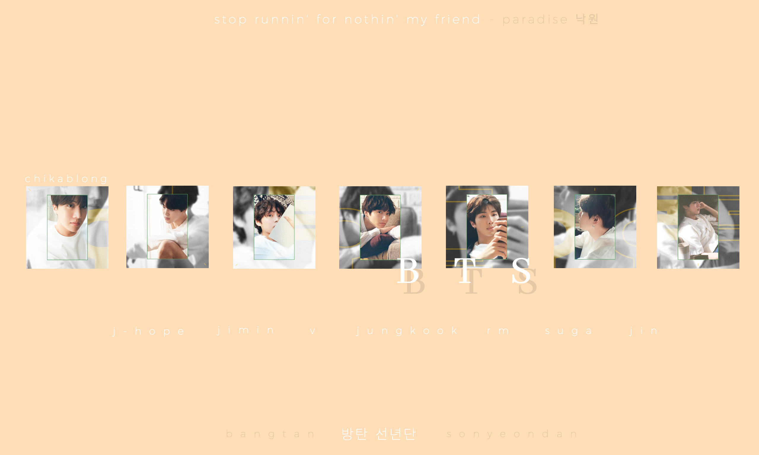 Bts Bangtansonyeondan Designideas Desktop Wallpaper Soft Pastel 1280x720 Photo Wallpaper Bts