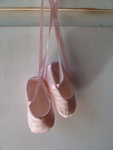 Baby Ballet Slippers . Baby Girl Shoes