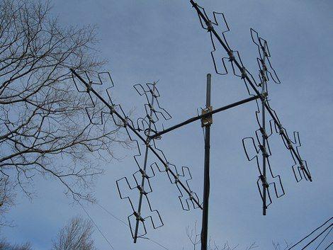 How To Make Fractal Antennas The Dxzone Ham Radio Ham Radio Antenna Radio Antenna