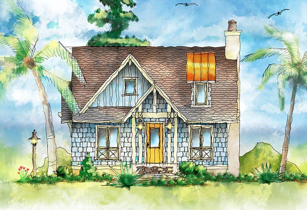 Plan 26683gg Shingle Style Itty Bitty Cottage Cottage