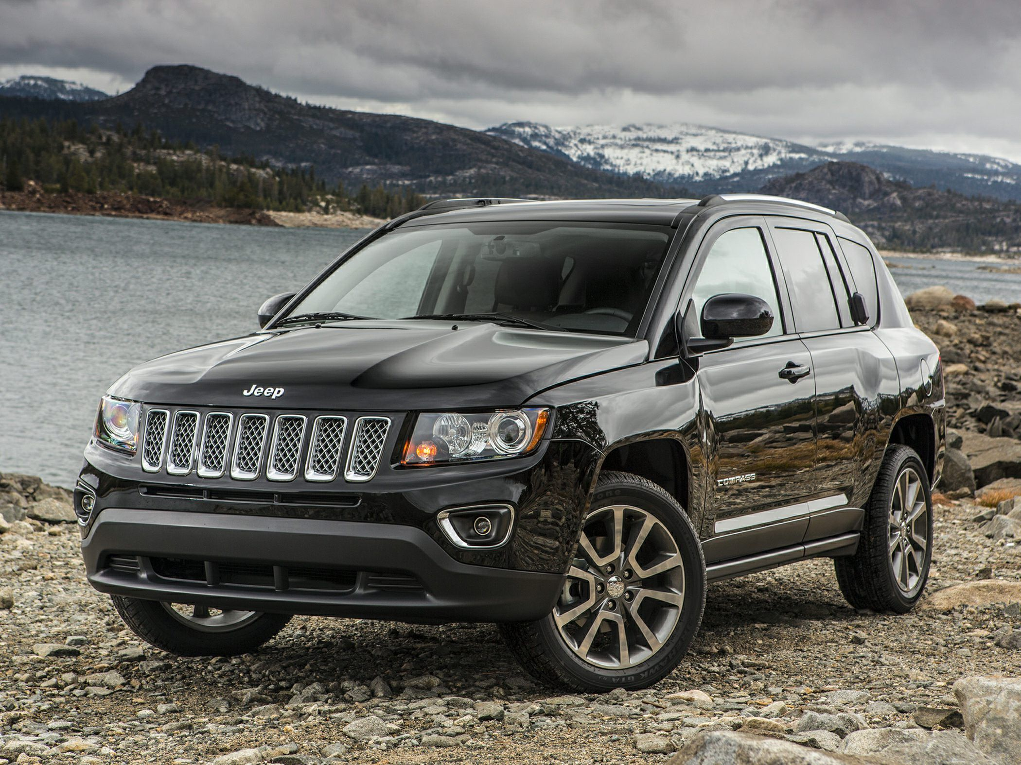 Jeep Compass Suv Black With Images Jeep Compass Jeep Compass