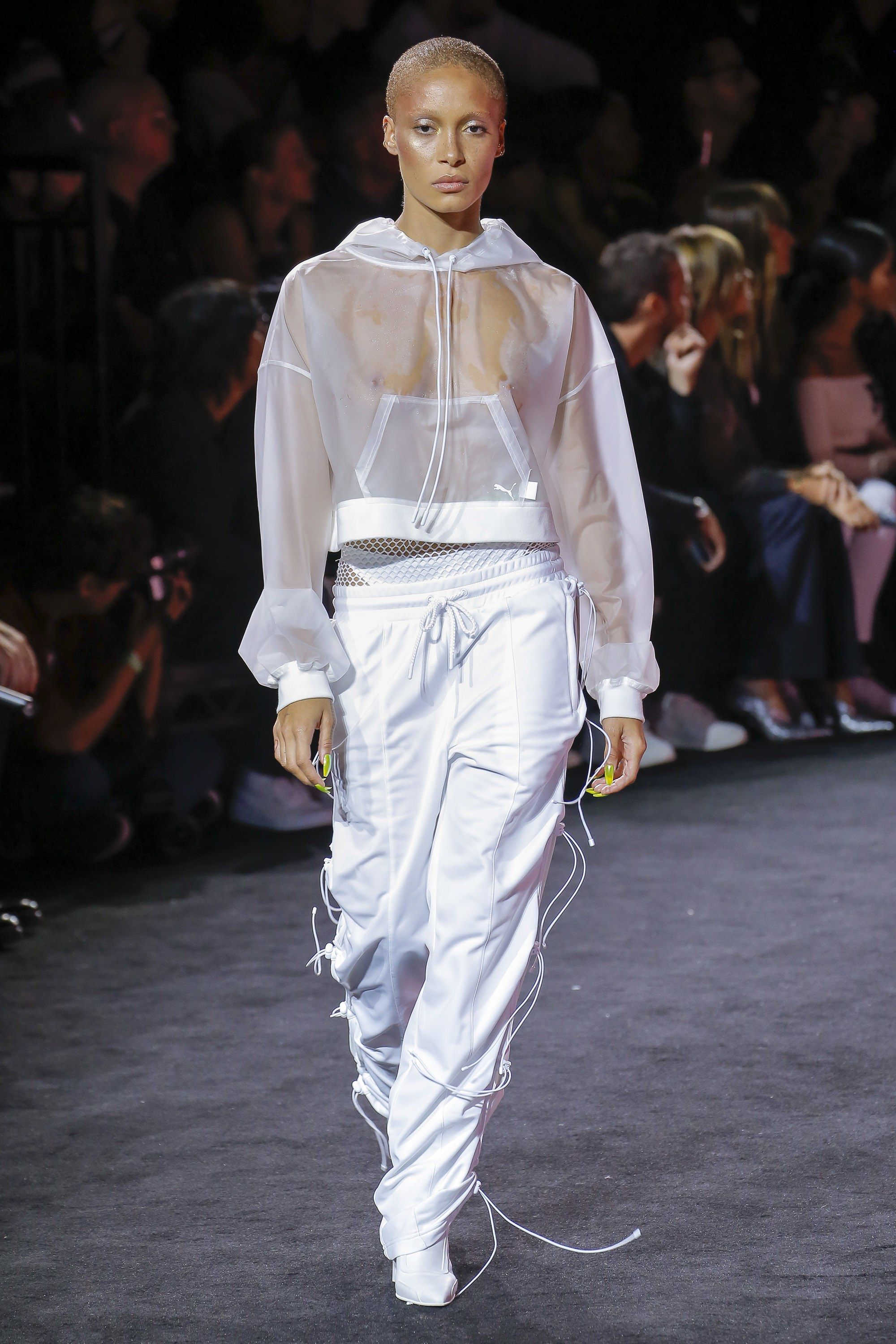6774d6227a4 Just wear a crisp white bodysuit underneath the top. ❤ Fenty x Puma Spring  2018 Ready-to-Wear collection.