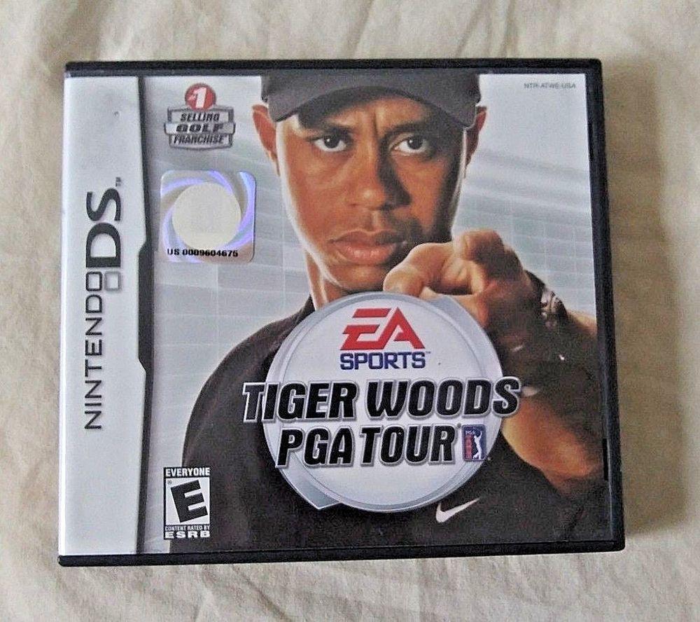 Nintendo DS Tiger Woods PGA Tour Golf Golfing Video Game