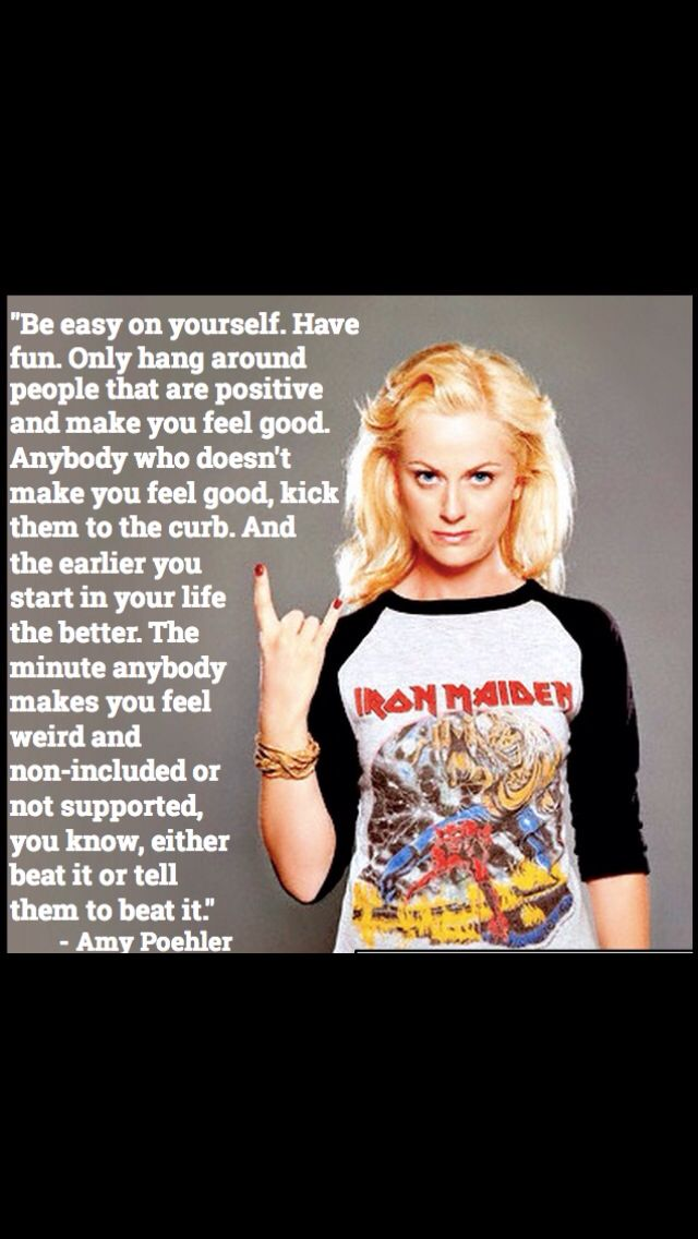 Amy Poehler beat it