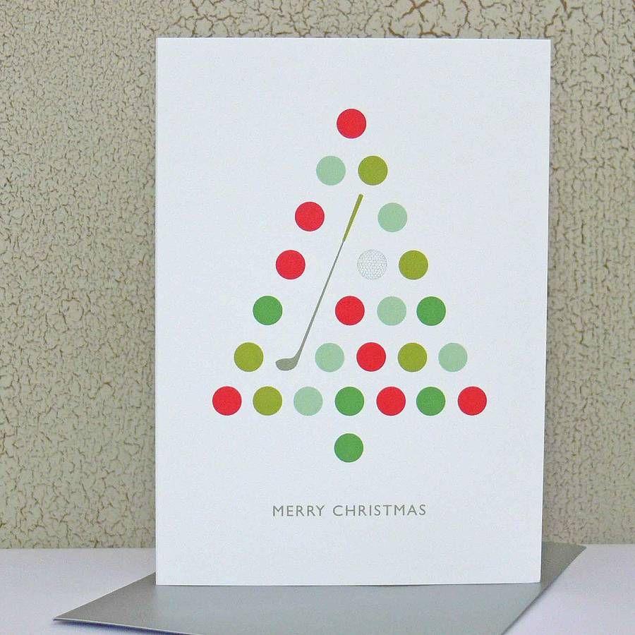 Golf Christmas Card | Golf