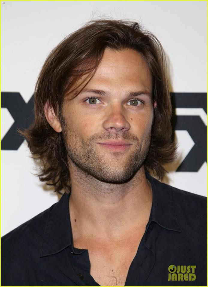 Great picture of Jared--gorgeous eyes!