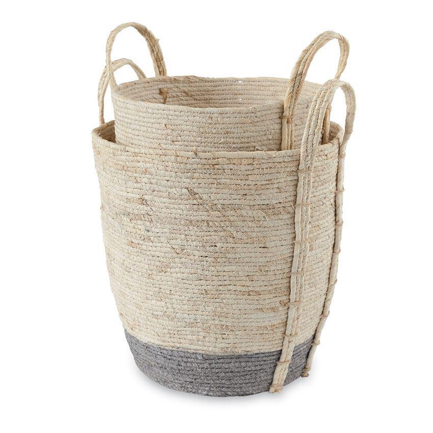 Corn husk basket corn husk corn husk crafts basket sets