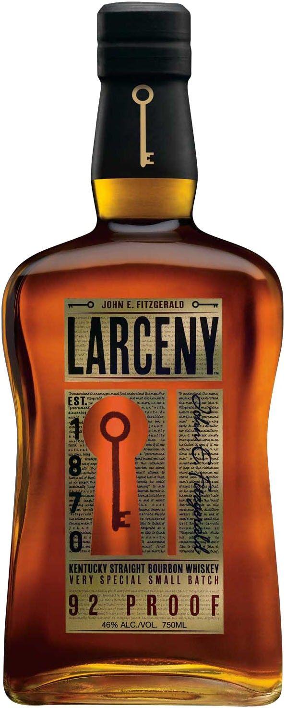 Larceny Very Special Small Batch Kentucky Straight Bourbon Whiskey Caskers Bourbon Whiskey Whiskey Kentucky Straight Bourbon Whiskey