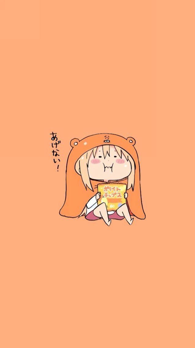 Pin By Arina On Iphone Wallpapers Himouto Umaru Chan Cute Anime Wallpaper Kawaii Anime