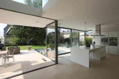 Idées aménagement cuisine ouverte sur lu0027extérieur Extensions and Lofts
