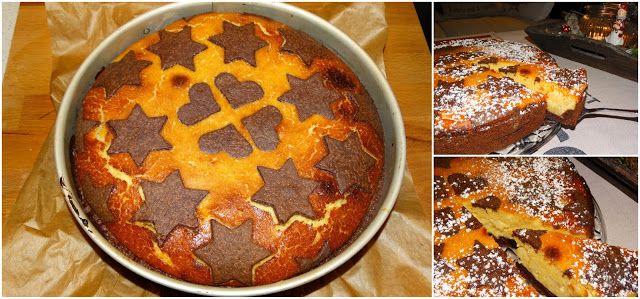 weihnachtlicher Quarkkuchen