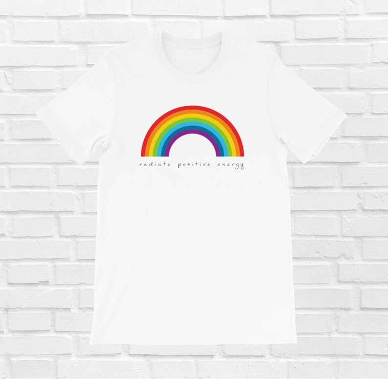 Space is Gay Pride Rainbow Short-Sleeve Unisex T-Shirt