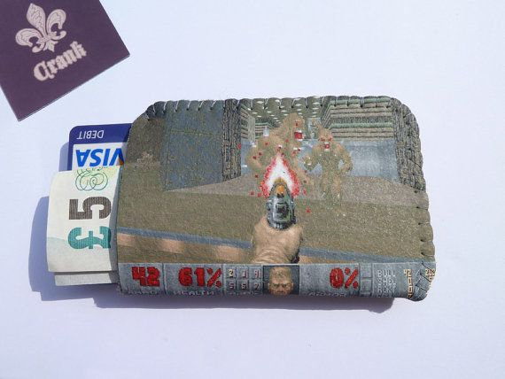 This Doom Game case is a great protection for your credit and debit cards, business cards and money notes. Made from very durable, long-lasting and
