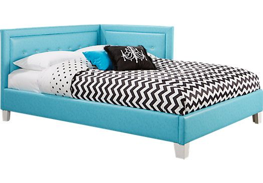 Best Lucie Blue 4 Pc Twin Corner Bed 299 99 81L X 43 5W X 400 x 300