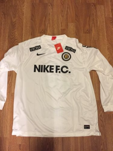 0ba3cd8d631c Men-039-s-Nike-FC-Football-Club-Long-Sleeve-Jersey-Size-Small-802407-100