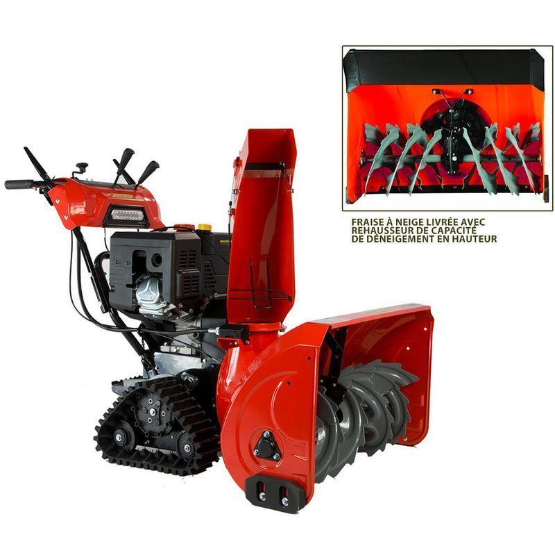 Fraise A Neige Deneigeuse 75 Cm 13 Cv A Chenilles Outdoor Power Equipment Outdoor Leaf Blower