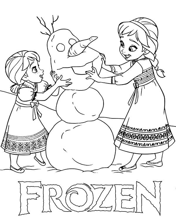 Elsa Christmas Coloring Pages Printable Display