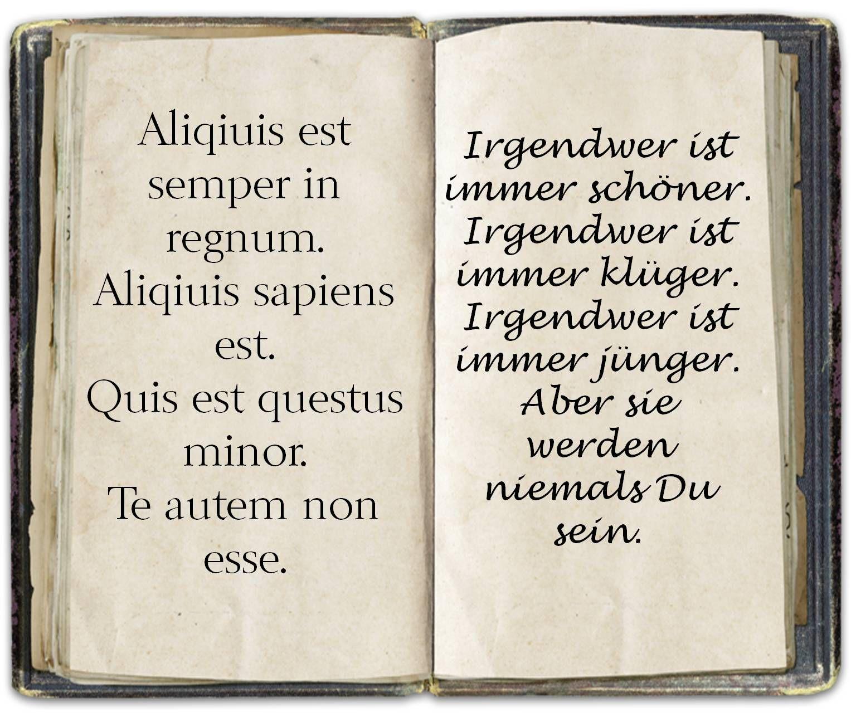 Spruch Latein Liebezitatetollesachen Zitate
