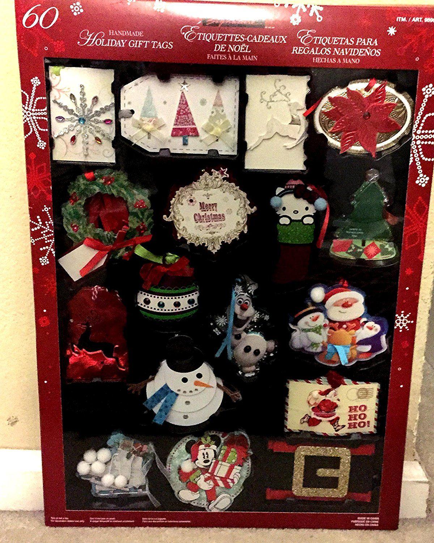 Kirkland signature holiday handmade gift tags 60 count