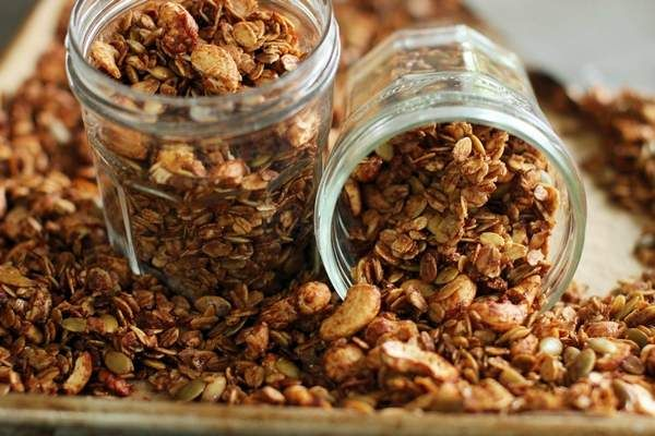 DIY granola lets you have it your way any time of day