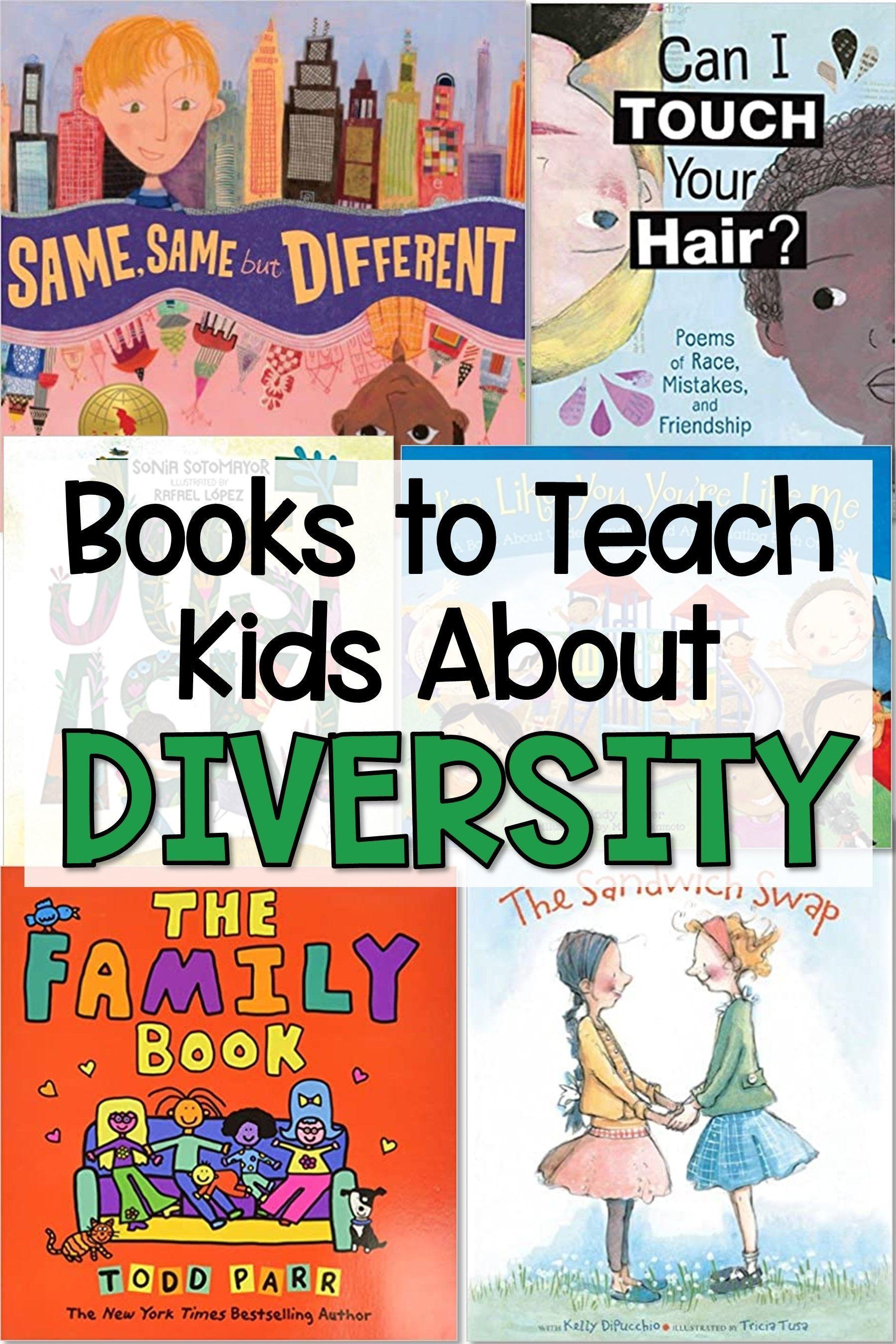 Books To Teach Kids About Diversity Teaching Kids Teaching Counseling Kids