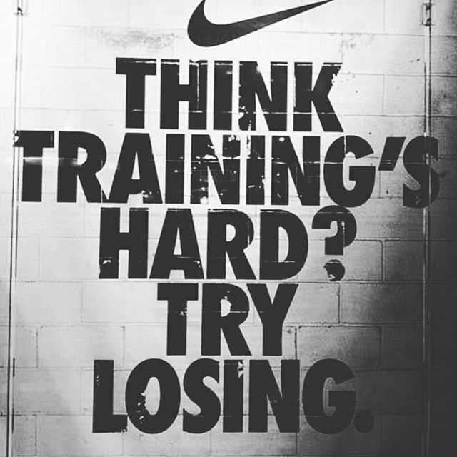 Top 100 nike quotes photos Never a truer quote for sports or competitors  #rugby #