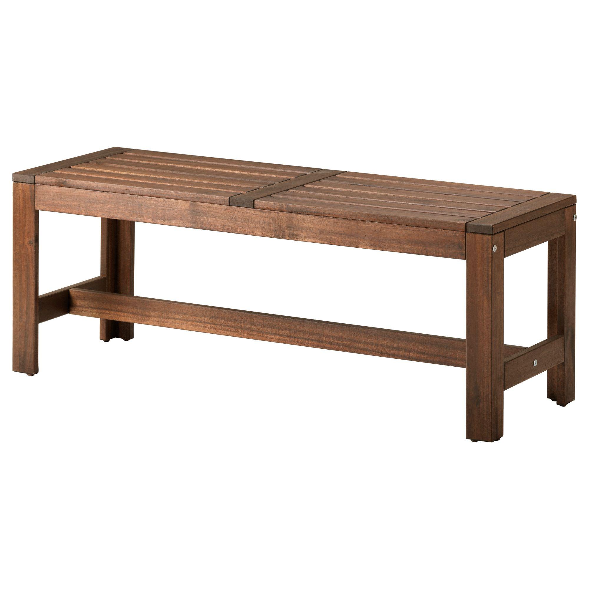 Applaro Banc Ikea Ikea Houten Bankjes Tuinstoelen