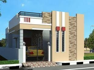 Elevations Of Independent Houses Google Search Small House Elevation Design Village House Design Independent House