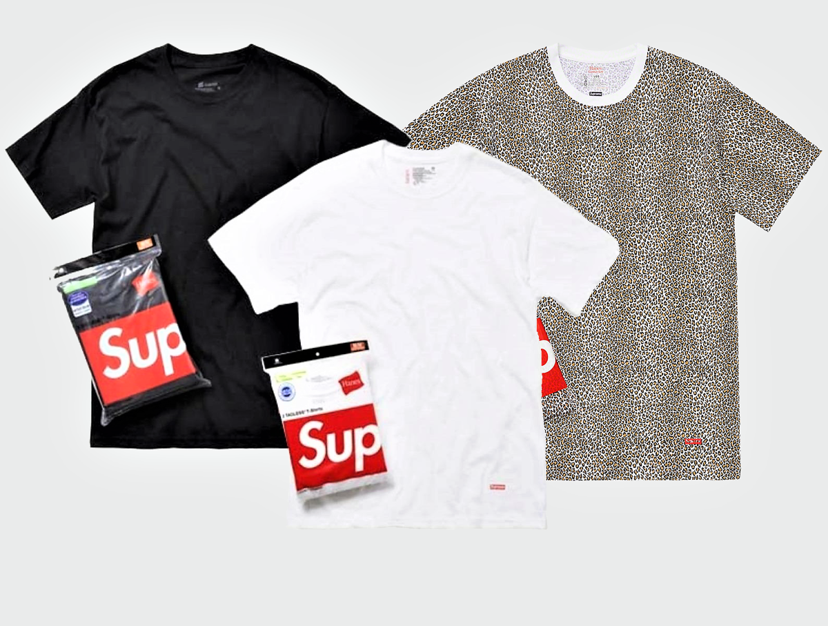 100/% Authentic Supreme Hanes Tagless Small Box Logo Tee Shirt only 1 T-Shirt