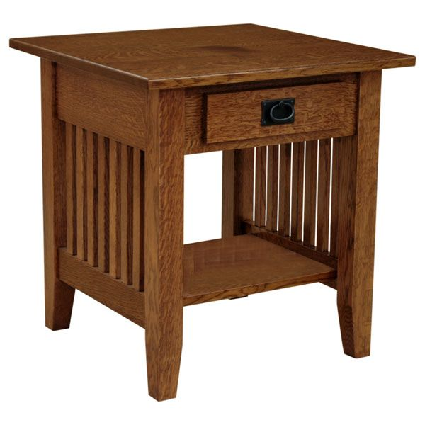 Amish Mission 22 With Images End Tables Craftsman Furniture