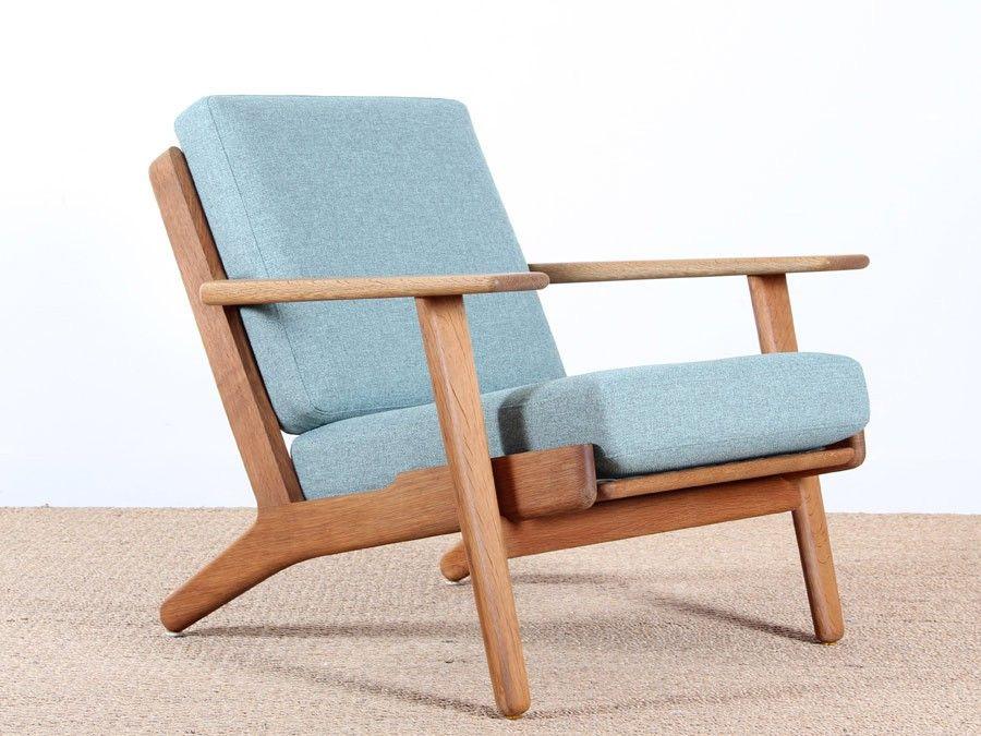 paire de fauteuils scandinaves modèle GE 390 de Hans Wegner pour ...